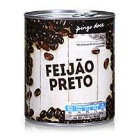 Feijão Preto Lata Pingo Doce 820G