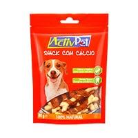 Snack Com Cálcio Para Cão 80G