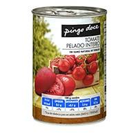 Tomate Pelado Inteiro Pingo Doce 390G
