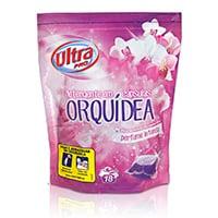 Detergente Cápsulas Orquídea 18 Unidades
