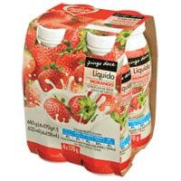 Iogurte Líquido Pingo Doce 170G, Morango