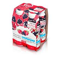 Iogurte Líquido Pingo Doce 170G, Frutos Vermelhos