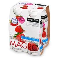 Iogurte Liq Mag Pingo Doce 170G, Morango