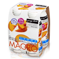 Iogurte Líquido Magro Pingo Doce 170G, Pêssego
