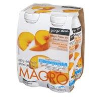 Iogurte Liq Mag Pingo Doce 170G, Pêssego