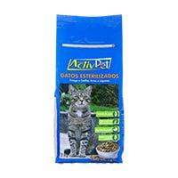 Alimento Seco Para Gato Esterilizado Activpet 2Kg
