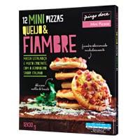 Mini Pizzas Queijo & Fiambre 360G