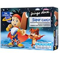 Gelado Super Choco Pingo Doce 6X65ml