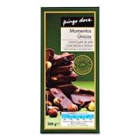 Chocolate Leite Avelãs E Passas Pingo Doce  200G