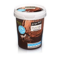 Gelado Sem  Lactose Sabor A Chocolate 500Ml
