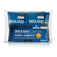 Batatas Fritas Onduladas Com Sal Pingo Doce 4X45G