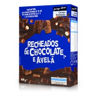 Cereais Recheados Com Chocolate E Avelã 500G