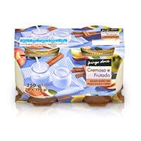 Iogurte Batido Pedaços De Maçã E Canela 2X125G