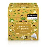 Chá Pirâmide Baunilha E Caramelo 20 Saquetas