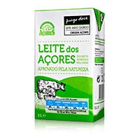 Leite Meio Gordo Açores Pingo Doce 1L