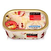 Gelado De Chocolate Branco & Framboesa Momentos Deliciosos Pingo Doce 950Ml