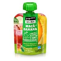 Bolsa De Fruta Maçã E Banana Pingo Doce 90G