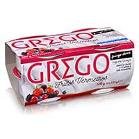 Iogurte Grego Frutos Vermelhos Pingo Doce 4X125G
