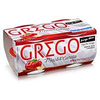 Iogurte Grego Maçã & Canela Pingo Doce 4X125G