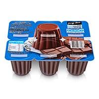 Pudim Chocolate Pingo Doce 6X100G