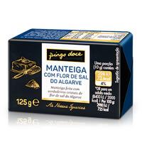 Manteiga Com Flor Sal Do Algarve Iguarias Pingo Doce 125G