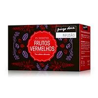 Chá Preto Frutos Vermelhos Pingo Doce 25 Saquetas