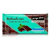 Tablete Chocolate Recheio Menta Pingo Doce 96G