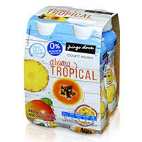 Iogurte Líquido Magro Aroma Tropical Pingo Doce 4x170g