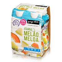 Iogurte Líquido Magro Aroma Melão e Meloa Pingo Doce 4x170g