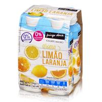 Iogurte Líquido Magro Aroma Limão e Laranja 4x170g