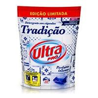 Detergente Máquina Cápsulas Ultra Pro Tradição 33Doses