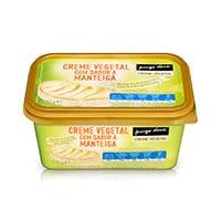 Creme Vegetal Sabor Manteiga Pingo Doce 500G
