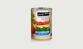 Tomate Pedaços com Oregãos e Manjericão Pingo Doce 390G