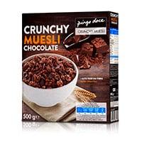 Crunchy Muesli Chocolate Pingo Doce 500