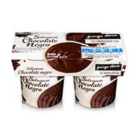 Sobremesa de Chocolate Negro Pingo Doce 2x150g