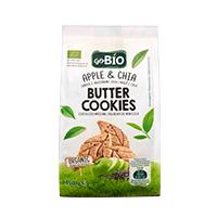 Bolachas de Manteiga Maçã e Chia Go Bio 150g