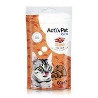 Snacks com Queijo ActivPet 60g