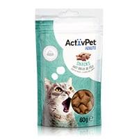 Snacks Anti Bolas de Pêlo ActivPet 60g