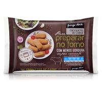 Croquetes de Carne Congelados para Forno Pingo Doce 10 Unid.