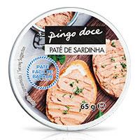 Paté de Sardinha Pingo Doce 65g