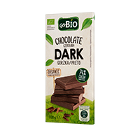 Chocolate Negro Go Bio 100g