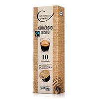 Café Expresso Comércio Justo Pingo Doce 10X8G