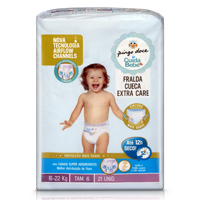 Fralda Cueca Extra Care 16-22Kg T6 Pingo Doce Cuida Bebé 21 Unid.