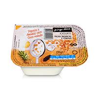 Iogurte Bicompartimentado Fruta Tropical e Cereais Pingo Doce 133g