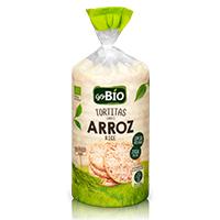 Tortitas de Arroz Biológico s/ Sal GO BIO 130g