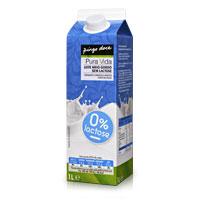 Leite Meio Gordo Sem Lactose Pura Vida 1L