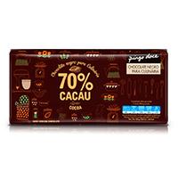 Chocolate Negro para Culinária 70% Cacau Pingo Doce 200g