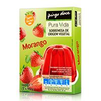 Sobremesa de Origem Vegetal Morango Pura Vida 2x90g