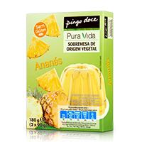 Sobremesa de Origem Vegetal Ananás Pura Vida 2x90g