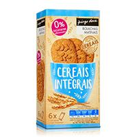 Bolachas Matinais Cereais Integrais 0% Açúcares Adicionados Pingo Doce 6 Unidades